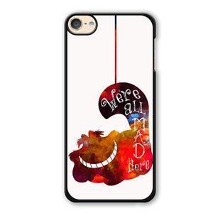 Alice's Cat Phonecase Cover Case For Apple Ipod 4 Ipod 5 Ipod 6 - tatumcase
