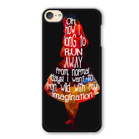 Alice's Quotes Phonecase Cover Case For Apple Ipod 4 Ipod 5 Ipod 6 - tatumcase