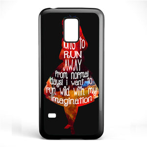 Alice's Quotes Phonecase Cover Case For Samsung Galaxy S3 Mini Galaxy S4 Mini Galaxy S5 Mini - tatumcase
