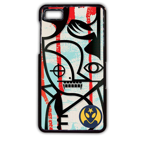 Alien Workshop Skateboard TATUM-579 Blackberry Phonecase Cover For Blackberry Q10, Blackberry Z10