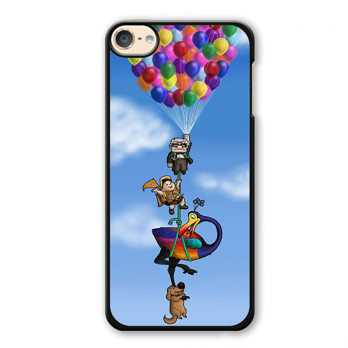 All Character Up Fly With Balloon Phonecase Cover Case For Apple Ipod 4 Ipod 5 Ipod 6