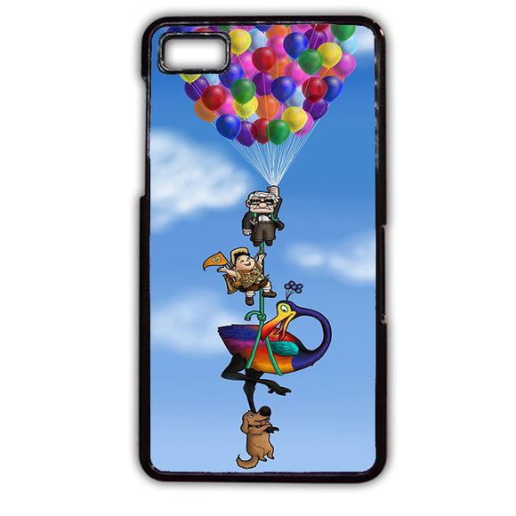 All Character Up Fly With Balloon Phonecase Cover Case For Blackberry Q10 Blackberry Z10