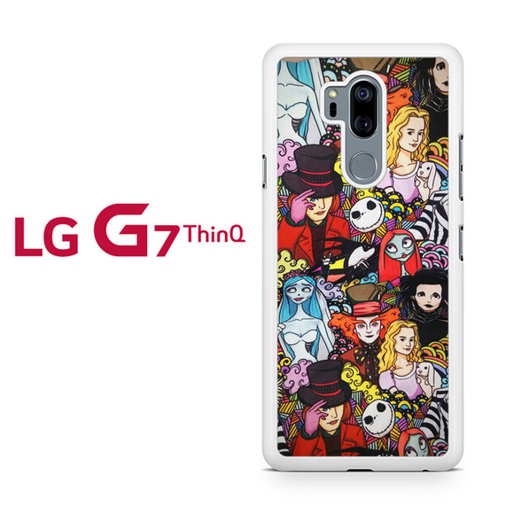 All Disney Creepys Things T, LG G7 ThinQ Case, Tatumcase