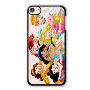 All Disney Princess Cinderella Ariel Alice Belle Jasmine Snow White Funny Phonecase Cover Case For Apple Ipod 4 Ipod 5 Ipod 6