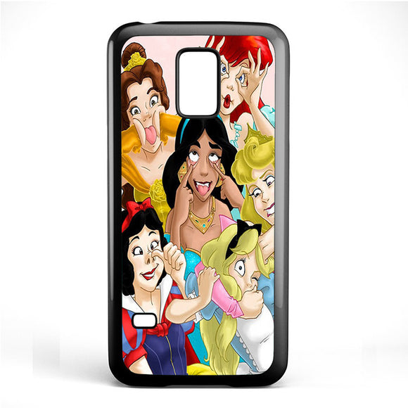 All Disney Princess Silly Faces Phonecase Cover Case For Samsung Galaxy S3 Mini Galaxy S4 Mini Galaxy S5 Mini
