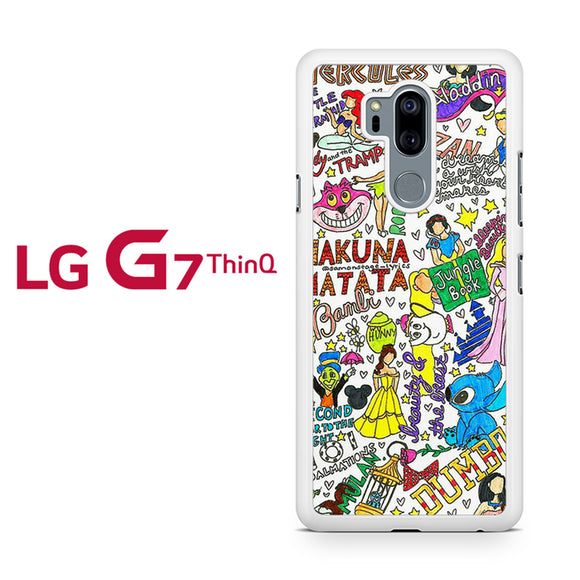 All Disney Things - Z, LG G7 ThinQ Case, Tatumcase