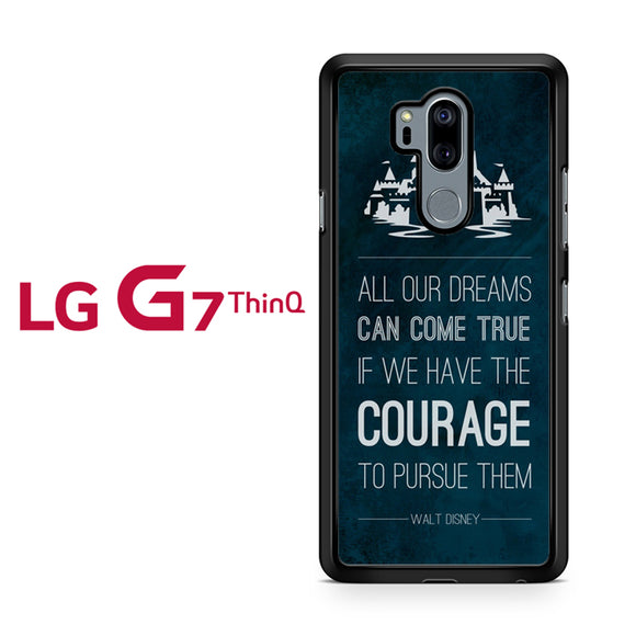 All Our Dream Disney, LG G7 ThinQ Case, Tatumcase