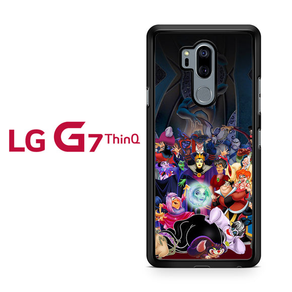 All Villains Disney, LG G7 ThinQ Case, Tatumcase