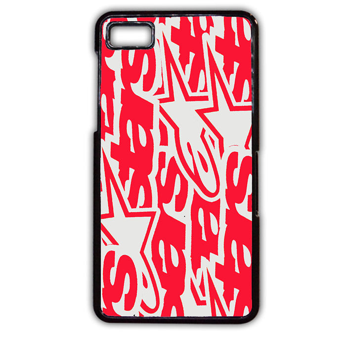Alpine Star Red Collage TATUM-654 Blackberry Phonecase Cover For Blackberry Q10, Blackberry Z10