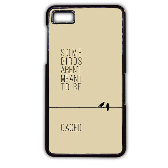 American Author Caged TATUM-695 Blackberry Phonecase Cover For Blackberry Q10, Blackberry Z10