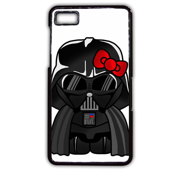 Anakin Skywalker Darth Vader Hello Kitty Star Wars TATUM-739 Blackberry Phonecase Cover For Blackberry Q10, Blackberry Z10
