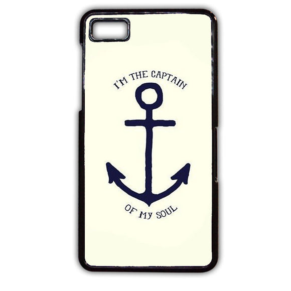 Anchor Im The Captain Of My Soul TATUM-750 Blackberry Phonecase Cover For Blackberry Q10, Blackberry Z10