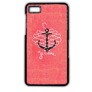 Anchor Je Taime TATUM-755 Blackberry Phonecase Cover For Blackberry Q10, Blackberry Z10
