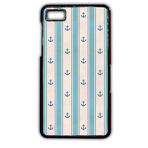 Anchor Light Blue TATUM-756 Blackberry Phonecase Cover For Blackberry Q10, Blackberry Z10