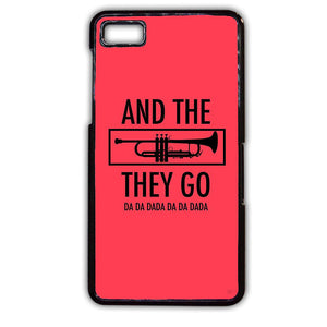 And The Trumpets They Go Jason Derulo TATUM-762 Blackberry Phonecase Cover For Blackberry Q10, Blackberry Z10
