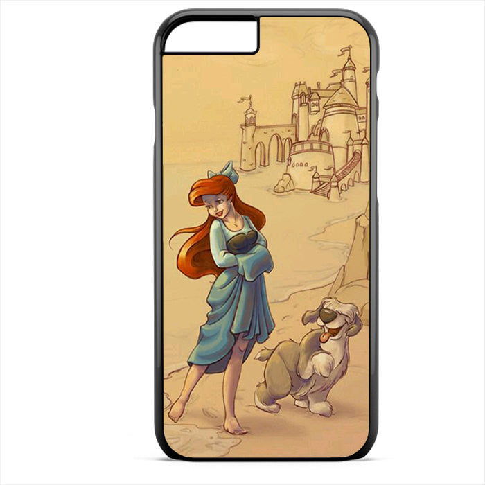 Ariel And Her Dog Phonecase For Iphone 4/4S Iphone 5/5S Iphone 5C Iphone 6 Iphone 6S Iphone 6 Plus Iphone 6S Plus