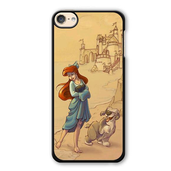 Ariel And Her Dog Phonecase Cover Case For Apple Ipod 4 Ipod 5 Ipod 6