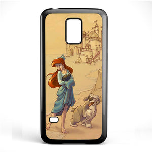 Ariel And Her Dog Phonecase Cover Case For Samsung Galaxy S3 Mini Galaxy S4 Mini Galaxy S5 Mini