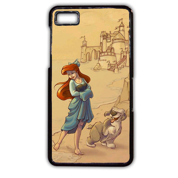 Ariel And Her Dog Phonecase Cover Case For Blackberry Q10 Blackberry Z10