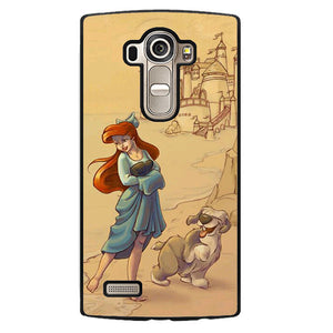 Ariel And Her Dog Phonecase Cover Case For LG G3 LG G4