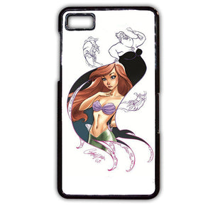 Ariel And Ursula Phonecase Cover Case For Blackberry Q10 Blackberry Z10