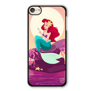 Ariel Handing A Fork Phonecase Cover Case For Apple Ipod 4 Ipod 5 Ipod 6