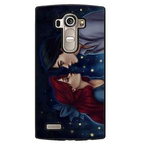 Ariel Kissing Phonecase Cover Case For LG G3 LG G4
