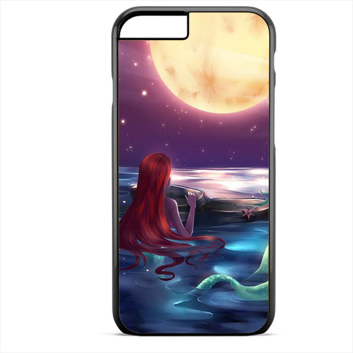 Ariel Loves Watching Moon Phonecase For Iphone 4/4S Iphone 5/5S Iphone 5C Iphone 6 Iphone 6S Iphone 6 Plus Iphone 6S Plus