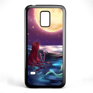 Ariel Loves Watching Moon Phonecase Cover Case For Samsung Galaxy S3 Mini Galaxy S4 Mini Galaxy S5 Mini
