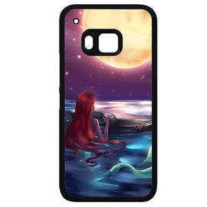 Ariel Loves Watching MoonPhonecase Cover Case For HTC One M7 HTC One M8 HTC One M9 HTC ONe X