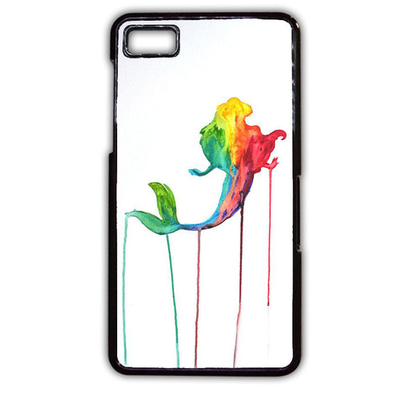 Ariel Melted Paint Phonecase Cover Case For Blackberry Q10 Blackberry Z10
