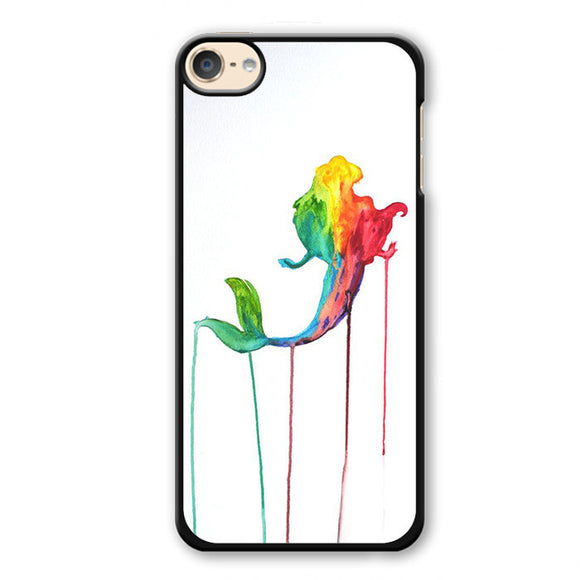 Ariel Melted Paint Phonecase Cover Case For Apple Ipod 4 Ipod 5 Ipod 6
