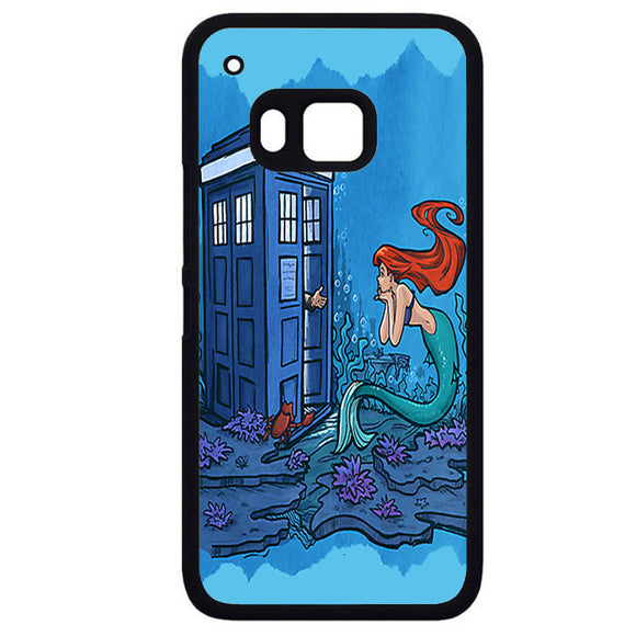 Ariel Mermaid TardisPhonecase Cover Case For HTC One M7 HTC One M8 HTC One M9 HTC ONe X
