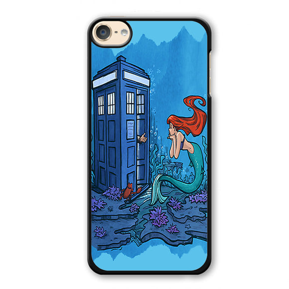 Ariel Mermaid Tardis Phonecase Cover Case For Apple Ipod 4 Ipod 5 Ipod 6
