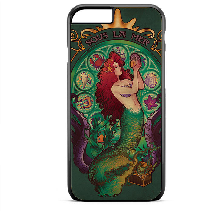 Ariel Sous La Mer Phonecase For Iphone 4/4S Iphone 5/5S Iphone 5C Iphone 6 Iphone 6S Iphone 6 Plus Iphone 6S Plus