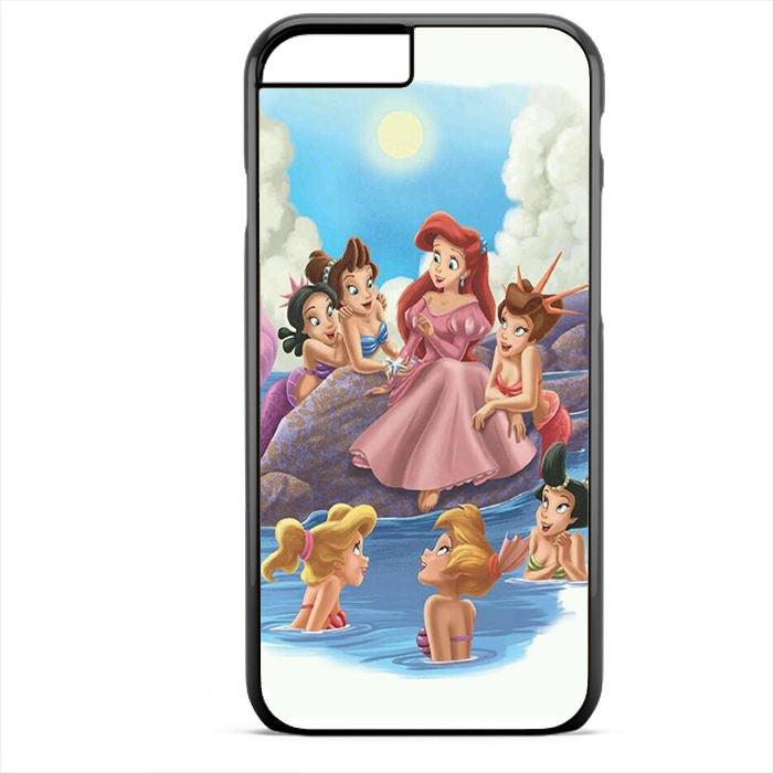 Ariel And Her Friends Phonecase For Iphone 4/4S Iphone 5/5S Iphone 5C Iphone 6 Iphone 6S Iphone 6 Plus Iphone 6S Plus