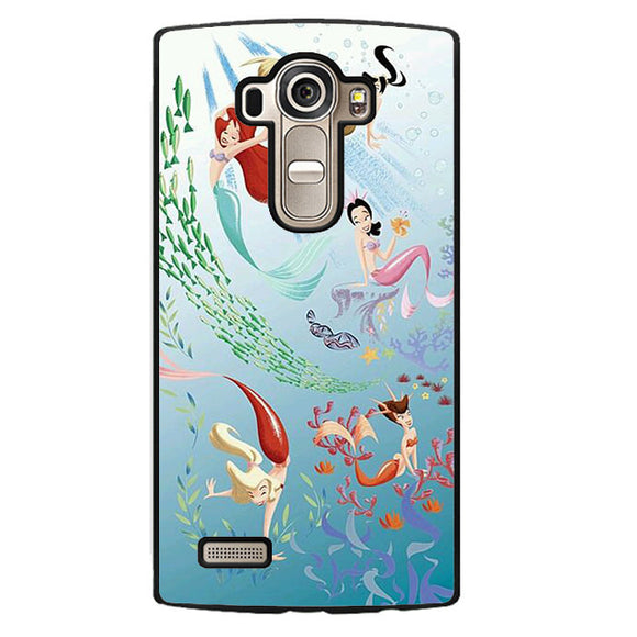 Ariel And Her Friends Soulmate Phonecase Cover Case For LG G3 LG G4