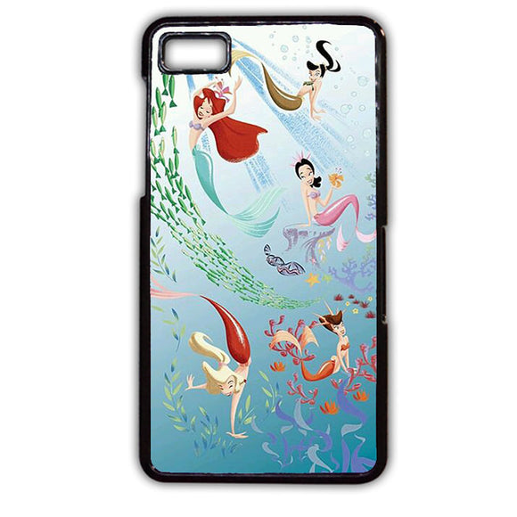 Ariel And Her Friends Soulmate Phonecase Cover Case For Blackberry Q10 Blackberry Z10