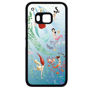 Ariel And Her Friends SoulmatePhonecase Cover Case For HTC One M7 HTC One M8 HTC One M9 HTC ONe X
