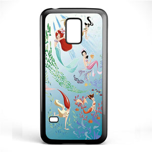 Ariel And Her Friends Soulmate Phonecase Cover Case For Samsung Galaxy S3 Mini Galaxy S4 Mini Galaxy S5 Mini