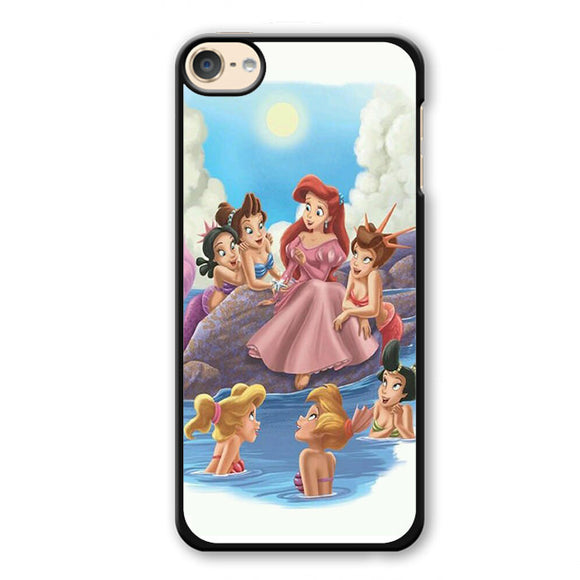 Ariel And Her Friends Phonecase Cover Case For Apple Ipod 4 Ipod 5 Ipod 6
