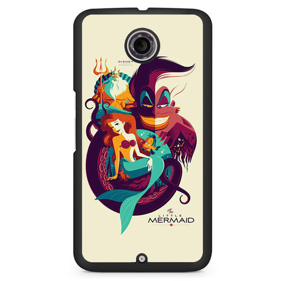 Ariel In Movie Poster Phonecase Cover Case For Google Nexus 4 Nexus 5 Nexus 6
