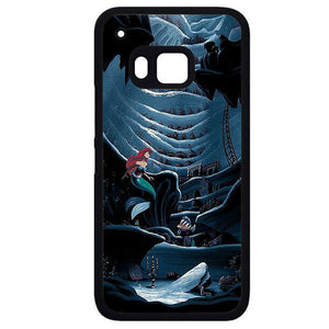 Ariel In Paint 2Phonecase Cover Case For HTC One M7 HTC One M8 HTC One M9 HTC ONe X