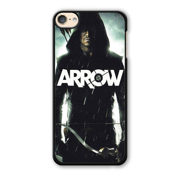Arrow Oliver Queen Stephen Amell Wicked Town Phonecase Cover Case For Apple Ipod 4 Ipod 5 Ipod 6
