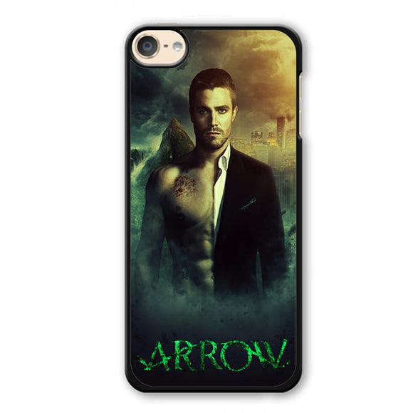 Arrow Oliver Quenn Person Phonecase Cover Case For Apple Ipod 4 Ipod 5 Ipod 6