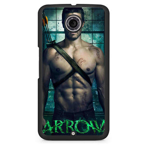 Arrow Oliver Quenn Nude Phonecase Cover Case For Google Nexus 4 Nexus 5 Nexus 6