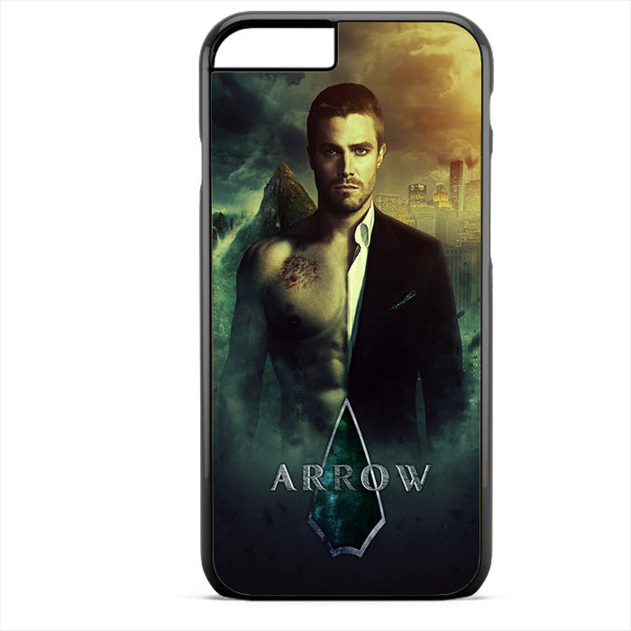 Arrow Oliver Quenn Half Nude Phonecase For Iphone 4/4S Iphone 5/5S Iphone 5C Iphone 6 Iphone 6S Iphone 6 Plus Iphone 6S Plus
