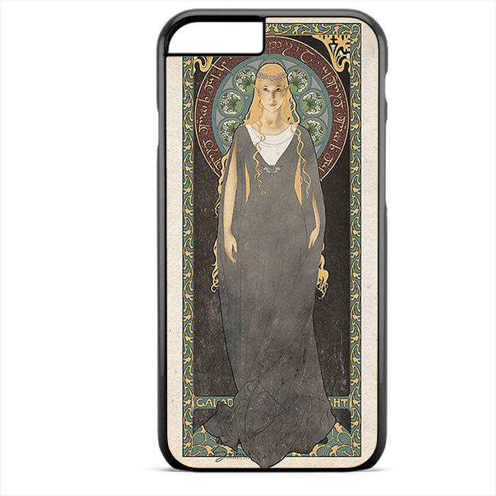 Art Nouveau Galadriel The Lady Of Light Phonecase For Iphone 4/4S Iphone 5/5S Iphone 5C Iphone 6 Iphone 6S Iphone 6 Plus Iphone 6S Plus