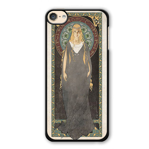 Art Nouveau Galadriel The Lady Of Light Phonecase Cover Case For Apple Ipod 4 Ipod 5 Ipod 6