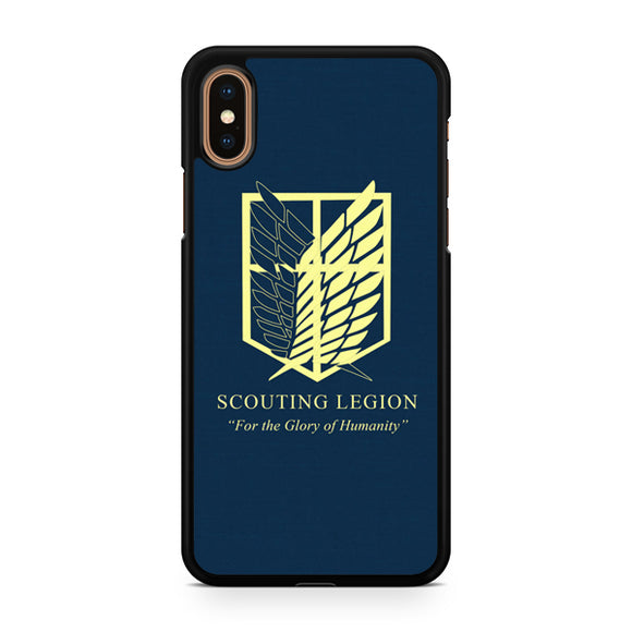 Attack on The Titan Scouting Legion, Custom Phone Case, iPhone Case, iPhone XS Case